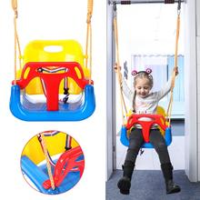 Baby Boy Girl Safety Swing Indoor Adjustable Bucket Baby Swing Seat With Seat Belt Kids Outdoor Yard Play Children #8217 s Swing Toy cheap Plastic In-Stock Items JXM-06123366 Sports 2-4 Years 5-7 Years 8-11 Years 3 years old 3 years old