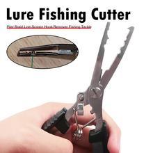 Praktische Angeln Zangen Scheren Durable Aluminium Legierung Angelschnur Scissor Locken Haken Remover Cutter Angeln Ausrüstung