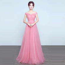 Bridesmaid Dresses Elegant Long Wedding Party Dress