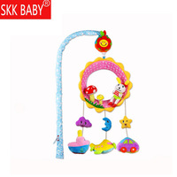 Skkbaby Infant Animal Bed Bell Toy Baby Music Rotating Rattle Bedside Bell Lathe Hanging Bell 35 Song