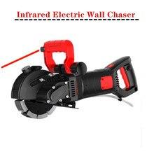 220В Электрический штроборез для стен паз для резки стены долбежная машина для резки стального бетона 220 кВт+ квт