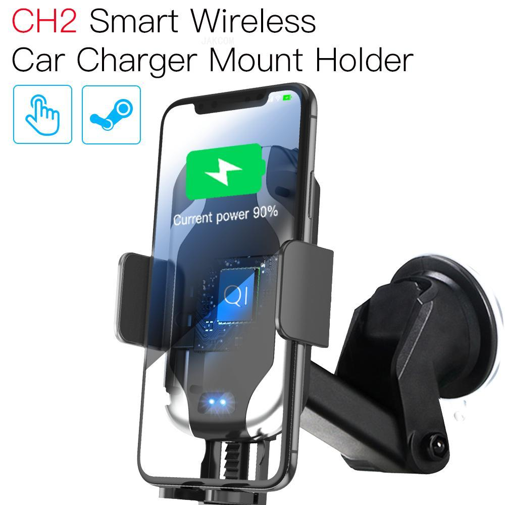 JAKCOM CH2 Smart Wireless Car Charger Mount Holder New arrival as 9 pro phone solar panel battery pack watch charging dock(China)