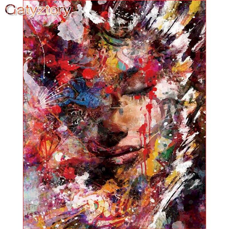 Картина по номерам gatyztory Акриловая картина для раскрашивания
