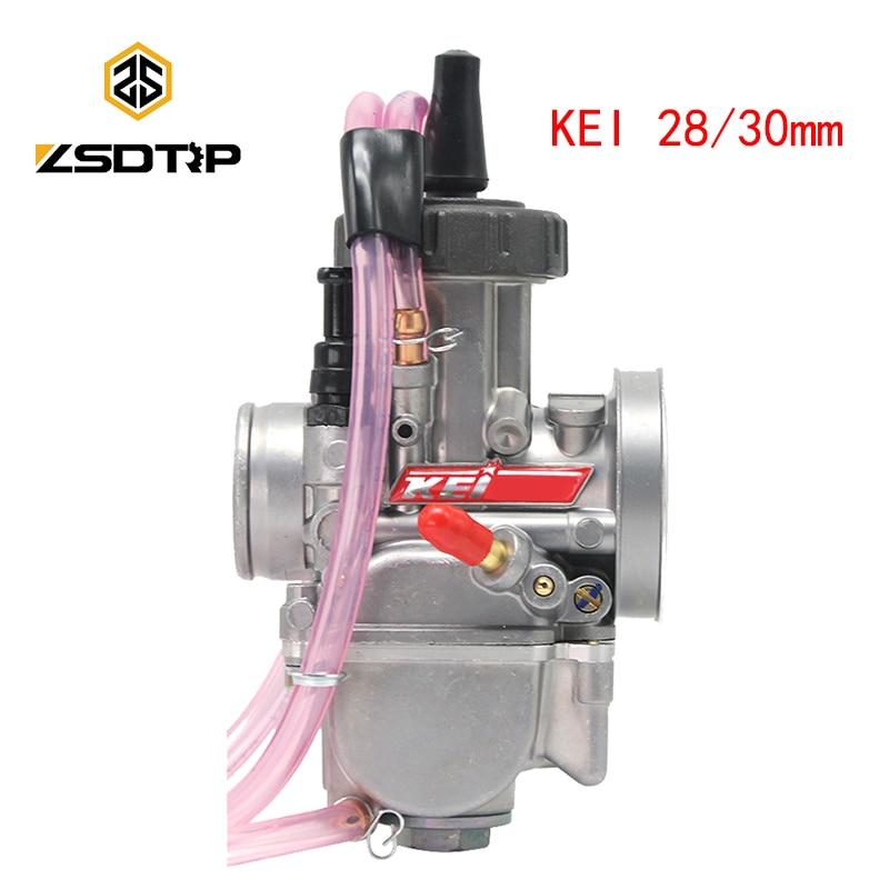 ZSDTRP Универсальный 28 мм 30 мм PWK МОТОЦИКЛ КАРБЮРАТОР Carburador для Keihin Mikuni Koso для ATV Suzuki Yamaha Honda