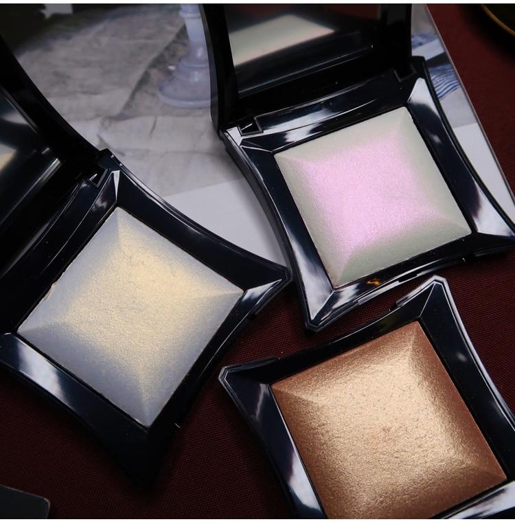 Illuminator Make-Up Glitter Schimmer Highlighter Palette Glow Kit Basis Machen Up Highlighter Contouring Palette Gold Silber Bronzer