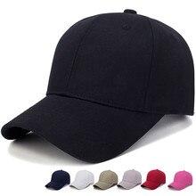 Черная кепка однотонная бейсбольная кепка Кепка Snapback Кепка s Casquette шапки повседневные кепки Gorras хип хоп головные уборы для мужчин и женщин унисекс# A