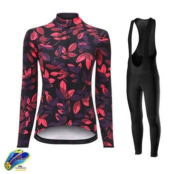 Dhb ciclismo jerseys 2020 pro equipe da bicicleta uniforme das mulheres roupas de ciclismo mtb bib longo conjunto camisa ropa ciclismo triathlon 1