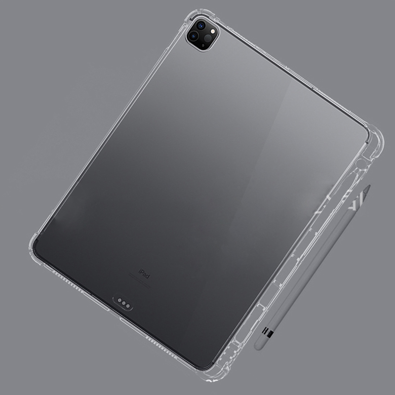 2021 Capa A2031 Pro 12.9 A2461 11 Case A2459 Holder Silicone 11 Pro For 2020 2018 iPad A2379 For With Pro iPad 2021 12.9 Pencil