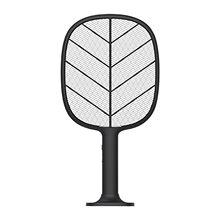 Novo usb elétrica fly swatter raquete mosquito fly catcher mosquito zapper para suporte e parede pendurado assassino mosquito mata moscas