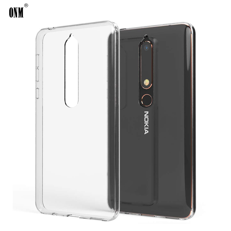 Case For <font><b>Nokia</b></font> 2.1 3.1 5.1 <font><b>6.1</b></font> 7.1 TPU <font><b>Silicon</b></font> Clear Soft Case for <font><b>Nokia</b></font> 3.1 <font><b>Plus</b></font> 5.1Plus 6.1Plus 7.1 <font><b>Plus</b></font> X5 X6 <font><b>Back</b></font> <font><b>Cover</b></font> image