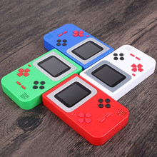 Built-in 268 jogos de vídeo game console retro clássico jogos jogo juegos mini handheld game player consola gamepad 8 bits console(China)