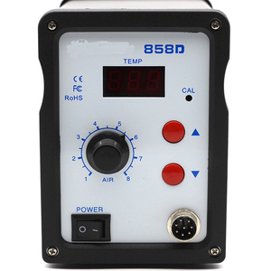 Image 5 - אוויר חם אקדח 858D BGA עיבוד חוזר הלחמה תחנת מפוח שיער מייבש מייבש שיער חום הלחמת 220V עבור SMD SMT ריתוך תיקון