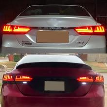 Car flashing 2pcs for Toyota camry 2018 2019 2020 Brake Reverse lamp LED taillight Tail Light Assembly rear parking light