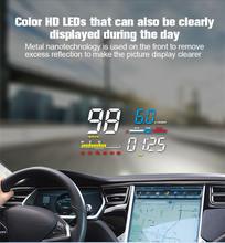 Автомобильный электронный проектор на лобовое стекло obd obd2
