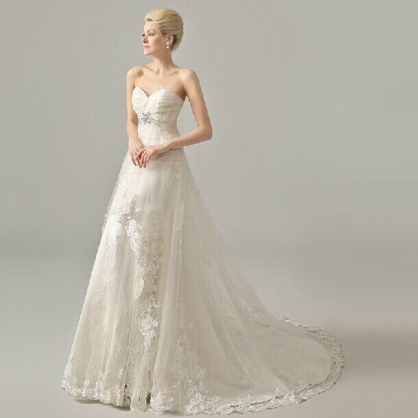Casamento Romantic New Design Sweetheart Crystal Sexy Appliques Vestido De Novia 2018 Bridal Gown Mother Of The Bride Dresses