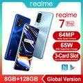 Смартфон realme 7 Pro NFC, 64 мп, 8 + 128 ГБ, Snapgragon, 720G, 65 Вт, быстрая зарядка, 4500 мА · ч