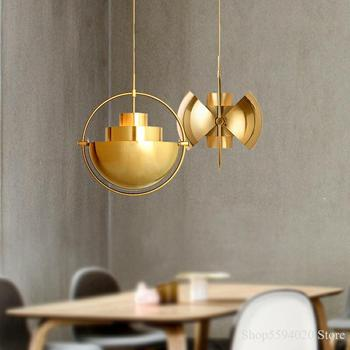 Modern Semicircle Pendant Lights Restaurant Hanging Lamp Bedroom
