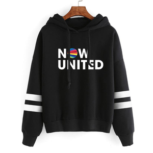 2020 Now United - Better Album Hoodie For Women Better Now United Lyrics Pullover Girl Kawaii Harajuku Tracksui