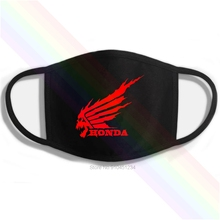 Honda Skull Wildfire Cool Printing Washable Breathable Reusable Cotton Mouth Mask