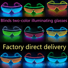 LED Luminous Glasses Halloween Glowing Neon Christmas Party For Boys Girls Kids new