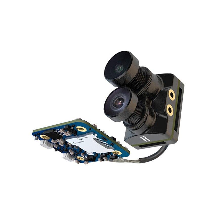 RunCam híbrido doble lente gran angular 4K HD Mini FPV cámara HD grabación FOV 145 grados 8MP Sensor para FPV Racing Drone - 4