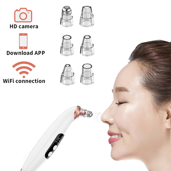 Vacuum Suction Blackhead Remover Nose Facial Pore Cleaner Spot Acne Black Head Pimple Removal Beauty Wifi Face Skin Care Tools vacuum blackhead remover facial vacuum pore cleaner nose acne comedo suction spot cleaner face skin care beauty device