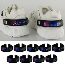 11 Models LED Shoes Clip Light Reflective Night Running Gear USB Rechargeable Luminous Flashing Modes Waterproof for Joggers