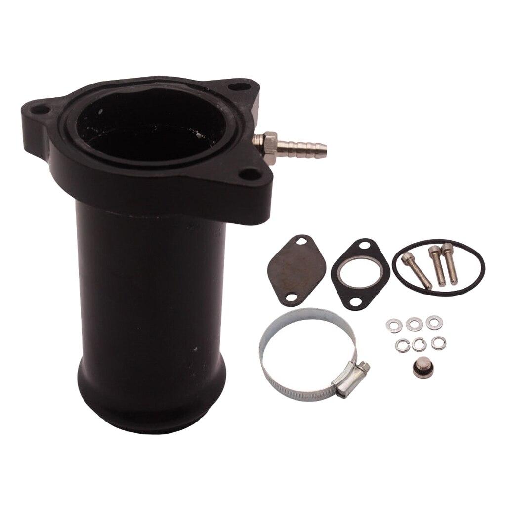 Válvula EGR de 2,25 pulgadas para VW TDI 1,9 rendimiento eliminar tubería de carrera 130/160 57mm