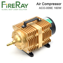 FireRay 160W Air Compressor Electrical Magnetic Air Pump for CO2 Laser Engraving Cutting Machine ACO-009E air pump air compressor 35w 40l electromagnetic air pump for laser cutting machine