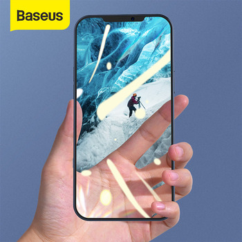Baseus 2 pièces 0.25mm verre trempé pour iPhone 12 Pro Max couverture complète protecteur décran pour iPhone 11 12 Mini XR verre Film complet