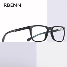 RBENN 2020 New TR90 Computer Reading Glasses Men Women Anti Blue Light Square Presbyopia Eyeglasses with Diopter +0.75 1.75 2.75