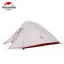 Naturehike 2 Person Tent Camping Waterproof Backpacking Picnic Hiking Fishing Outdoor Portable Single With Free Mat