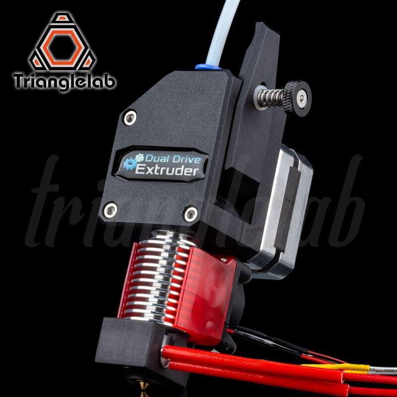 Trianglelab MK8 Bowden HOTEND Extrusora extrusora BMG + V6 Dual Drive Extrusora para 3d impressora de Alto desempenho para I3 3D impressora