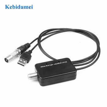 Kebidumei wysokiej jakości łatwa instalacja 25DB wzmacniacz sygnału telewizyjnego wzmacniacz cyfrowy HD dla telewizji kablowej Fox antena HD kanał tanie i dobre opinie OUTDOOR 45-862 MHz TV Signal Amplifier