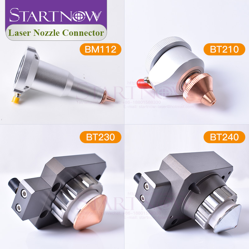 Raytools Fiber Laser Cutting Head BT210S BT230 BT240S BM111 BM109 BM112 Laser Nozzle Sensor Connector Nozzle Connection Parts