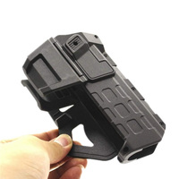 Tactical Movable Pistol Holsters with Flashlight or Laser Mounted Right Hand Waist Belt Gun Holster for Colt 1911