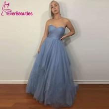 цена вечернее платье Long Prom Dresses 2020 Glittery Tulle Sequins Sweetheart Evening Formal Gowns Robe De Soiree онлайн в 2017 году