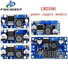 LM2596 LM2596HVS power supply module DC-DC BUCK 3A adjustable buck module regulator ultra LM2596S Step down 24V switch 12V 5V 3V
