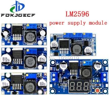 LM2596 LM2596HVS power supply module DC-DC BUCK 3A adjustable buck regulator ultra LM2596S Step down 24V switch 12V 5V 3V - sale item Active Components