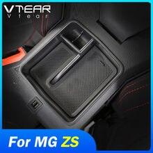 Vtear-caja de almacenamiento para MG ZS, soporte para contenedor, accesorios, consola central, reposabrazos central, bandeja de almacenamiento