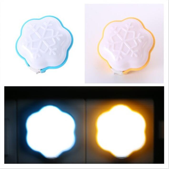 Snowflake Switch Nightlight Snowflake Shape Nightlight New LED Nightlight