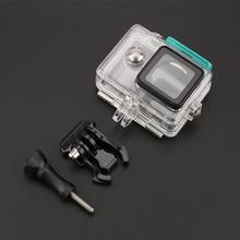 Accessoires pour Xiaomi Yi 1 sous marin 40M plongée boîtier étanche housse de protection pour Xiaomi Yi 1 Action Camera