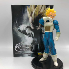 18cm One piece Dragon Ball Z Vegeta Action Figure PVC Toys Collection Model Toys for Christmas Gift with Retail Box 18cm dragon ball z android 18 lazuli action figure pvc collection figures toys for christmas gift brinquedos with retail box