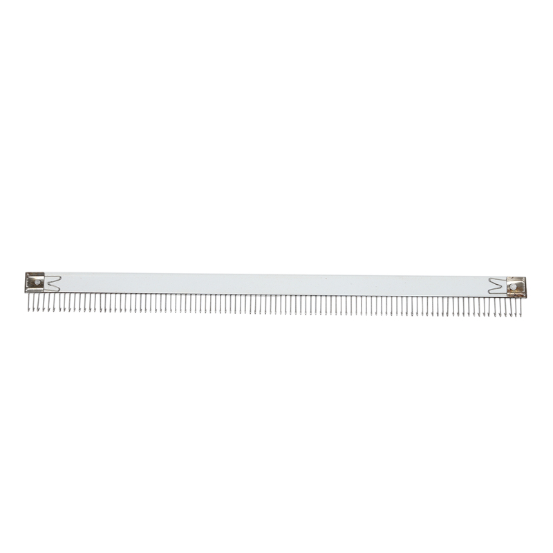 Practical 18 Inch/46cm Stainless Steel Silver Cast On Comb Knitting Machine For All 4.5mm/9mm For Brother Knitting Machine Needl