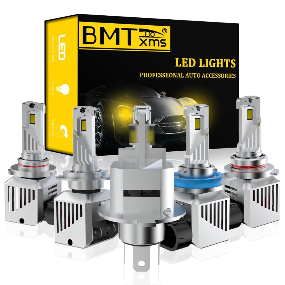 BMTxms автомобиля H4 светодиодный H7 H11 H8 HB4 H1 H3 9005 HB3 авто лампы для передних фар Psx26w P13w H27w/1 H27w/2 12000LM автомобильные аксессуары