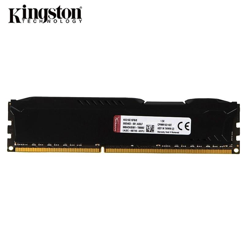 Kingston HyperX Fury DDR3 1333MHz 1600MHz 1866MHz RAM Memory DDR3 8GB 4GB Memoria RAM  DIMM Intel Gaming Memory For Desktop PC3 4