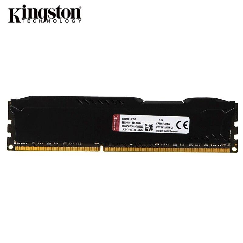 Kingston HyperX Fury DDR3 8GB/4GB Desktop RAM with 1333MHz/1600MHz/1866MHz Memory Speed 3