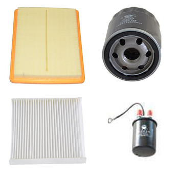 Car Air Filter Cabin Filter Oil Filter Fuel Filter for 2016 2017 MG MG6 1.5T ROEWE ei6 i5 i6 30071028 27274-4M400 PF48 10137854