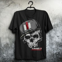 Case IH Tractors- skull so cool-Top Gift- US Man shirt Size S to 5XL(China)