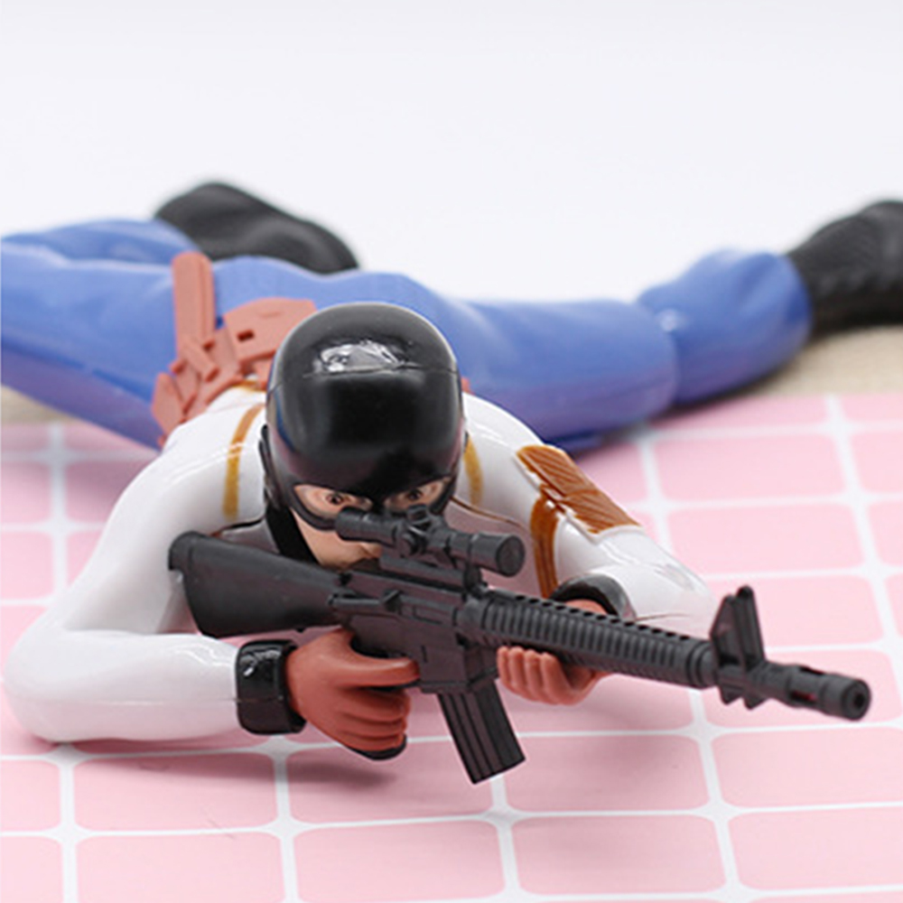 Crawling Toy Electric Music Crawling Special Forces Toy Anti Terrorist Guerrilla Fighters Vocal Cords Lighting Electric Toys